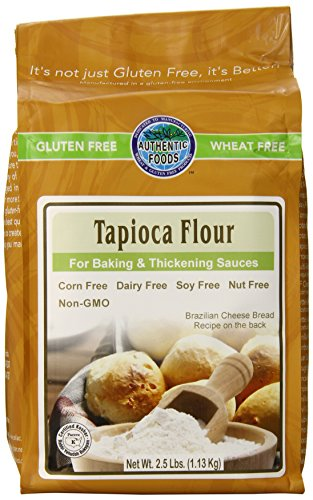 Authentic Foods Tapioca Flour, 2.5 Pound