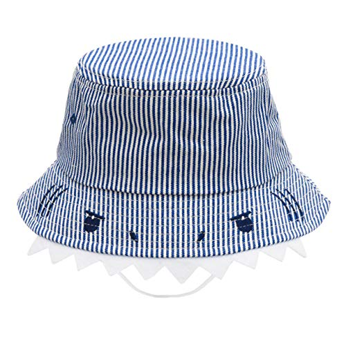 ERISO Toddler Hats for Boys Rabbit - Baby Bucket Hat Cotton Sun Protection Play Hat ((18.1