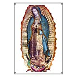 CafePress Our Lady Of Guadalupe - Vinyl Banner, 44''x30'' Hanging Sign, Indoor/Outdoor