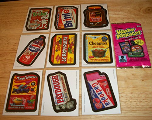 2007 WACKY PACKAGES ALL NEW SERIES 5 (ANS5) COMPLETE