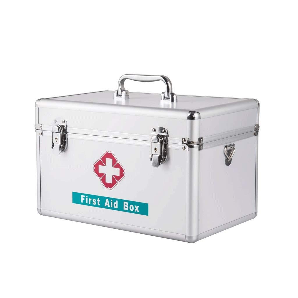 薬箱家庭用大容量緊急医療箱外来応急処置薬収納ボックス HUXIUPING (Size : 14 inch) 14 inch  B07TJ366VG