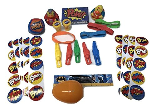 Superhero - 24 Large Prefilled Toy Filled Easter Eggs In Ass