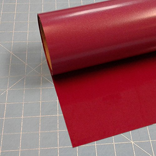 Siser Easyweed Burgundy 15'' x 10' Iron on Heat Transfer Vinyl Roll HTV by Coaches World by Easyweed
