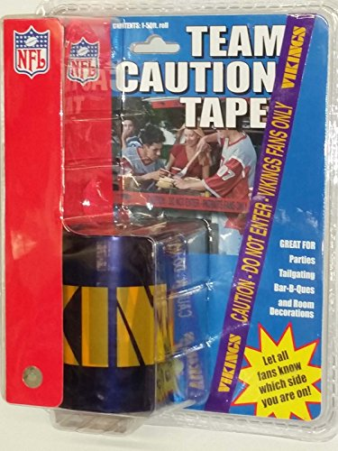 (Minnesota Vikings Tailgating Tape (Police Line Style)Caution)