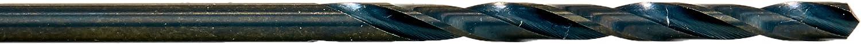12-Pack 011210 5//32 Diameter T1B High Speed Steel Drill Black Oxide Finish Triumph Twist Drill Co