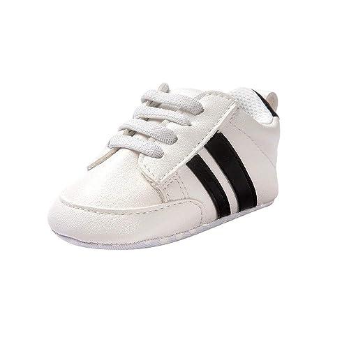 006a4afb636 ❤ Amlaiworld Zapatos de bebé Primeros Pasos Calzado Deportivo de Cuero  Antideslizante Inferior Suave para niños niñas pequeños Infantiles Botas ...