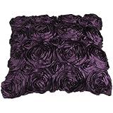 Amazon.com: Lush Decor Flower Drop Curtain Panel, Purple