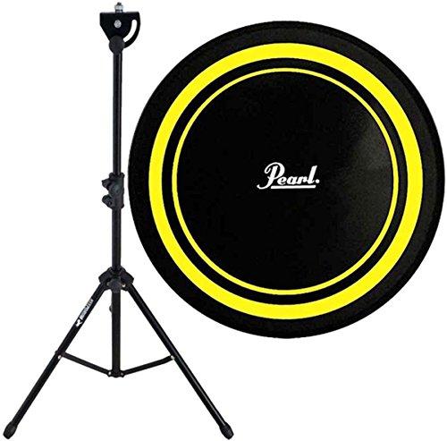 Pearl PDR-08P Practice Drum Pad Gelb/Schwarz Übungspad 8