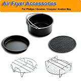 Pack of 5 Universal Air Fryer Accessories Compatible with Philips...