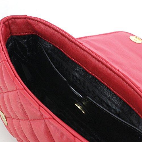 Love 9 Tracolla Cm Moschino Ecopelle Pochette Rosso Codice 20 Patta 13 X Jc4013pp13 A Matelasse wrF4qZw