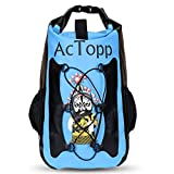 AcTopp 35/20L Waterproof Dry Bag Backpack Kayak Waterproof Bag Durable Roll Top Backpack with 2 Adjustable Shoulder Straps for Boating, Kayaking, Sailing, Rafting, Canoeing, Camping