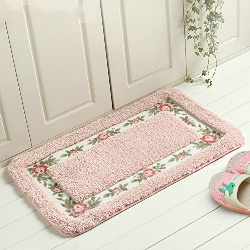 Sytian 174 Decorative Super Soft Floral Design Rural Style