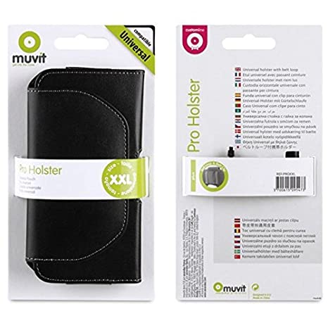 Muvit PROXXL Etui Universel Horizontal Passant Clip Taille XXL pour Samsung  Galaxy S3 S4 S5 iPhone 6  Amazon.fr  High-tech 495ea0e7c11