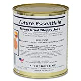 MRE Wholesalers Future Essentials Sloppy Joes Mix – Real Cooked Beef, Vegetables, Just Add Water, 10.7 Ounces – 20+ Years Shelf Life