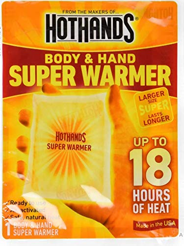 HotHands - Body & Hand Super Warmer New Mega Size Pack (80 count) (Hot Pak)