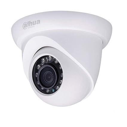 3 megapíxeles Mini cámara Domo con PoE de dahua, visión Nocturna 20 Metros, cámara
