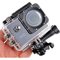Koolulu 1080p 12MP Wide-Angle Sport Video Camera with Waterproof Case