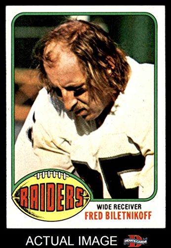 Fred Biletnikoff Oakland Raiders - 8