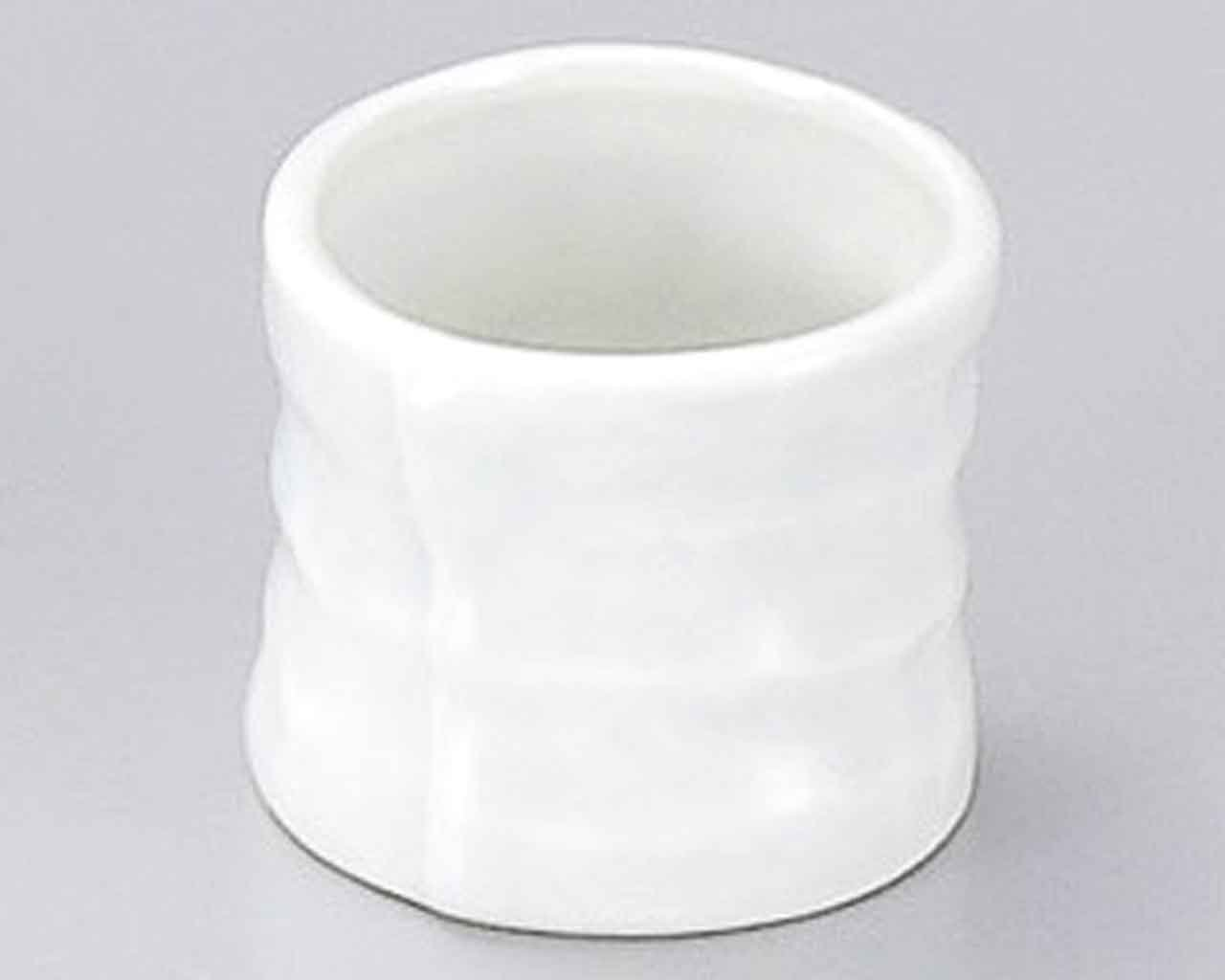 Seihakuji 1.8inch Set of 5 Toothpick holders White porcelain Made in Japan by Watou.asia