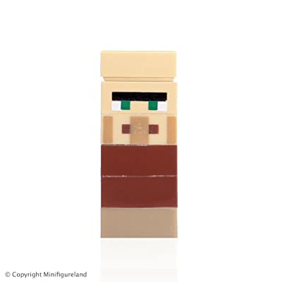 LEGO Minifigure / Micromob - Minecraft Villager: Toys