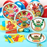 Yo Gabba Gabba! Standard Party Pack for 16 Party Accessory, Health Care Stuffs