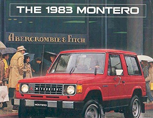 1983 mitsubishi montero