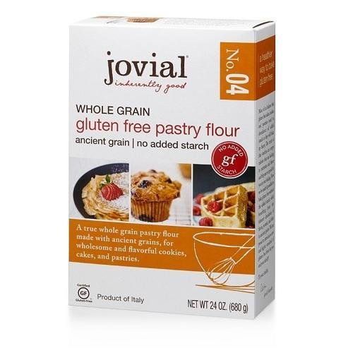 JOVIAL Gluten Free Whole Grain Pastry Flour, 24 OZ (No Wheat Flour)
