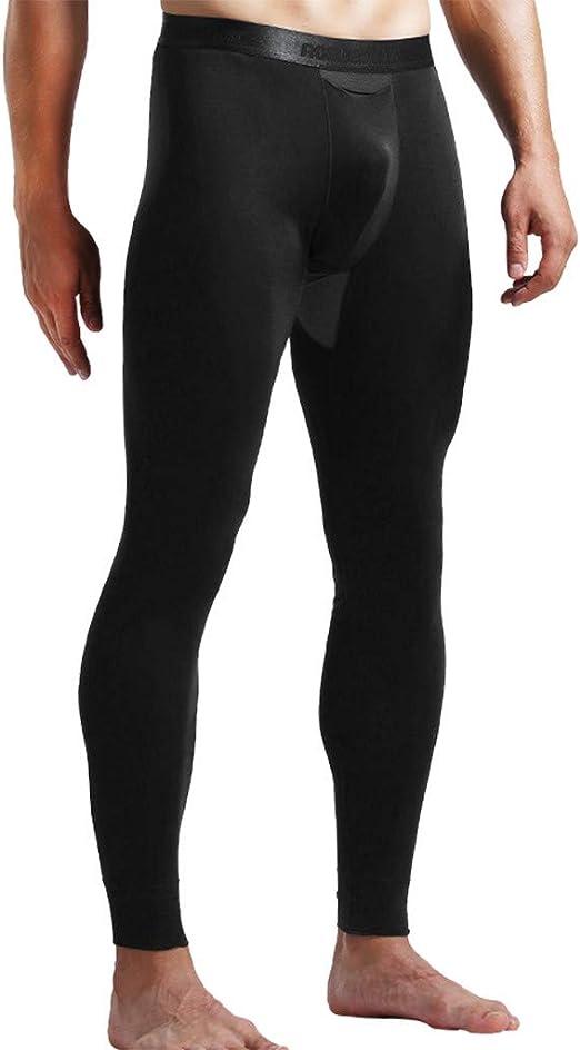 Joe Wenko Mens Slim Solid Elastic Waist Joggers Trousers Fitness Pants