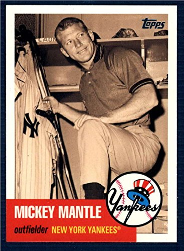 2007 Topps Chrome Mickey Mantle Story #MMS27 Mickey Mantle
