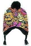 five nights of freddy merchandise - Five Nights at Freddy's Fazbear's Pizza Allover Laplander Beanie Hat Cap