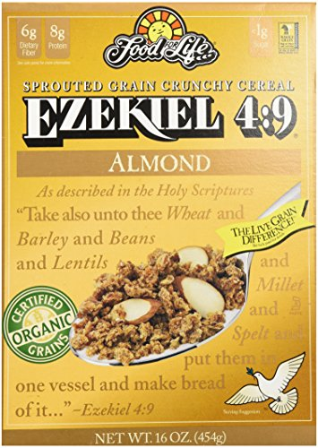 Food For Life Ezekiel 4:9 Sprouted Grain Cereal Almond 16oz