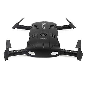 Drone, 2.4 G Drone Mini cámara HD Auto-Temporizador Drone Plegable ...