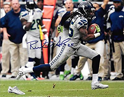 Richard Sherman Seattle Seahawks Autographed Signed 8x10 Photo - COA
