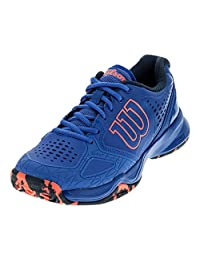 Wilson Kaos Comp Women's Tennis Shoe Purple/Navy/Neon