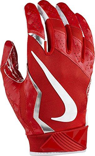 Nike Vapor Jet Gloves 4 University Red/Metallic Silver/White