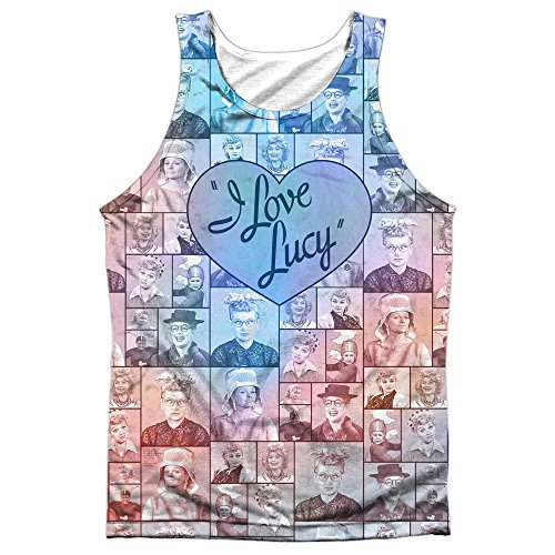 i love lucy tank top - 4