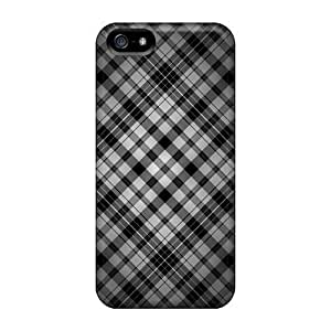 BestSellerWen Awesome Black And White Flip Case With Fashion Design For Iphone 5/5s