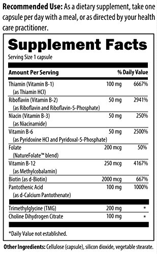 Designs for Health - B-Supreme - 60 Capsules, B Complex with Active Folate & B12 by designs for health (Image #1)