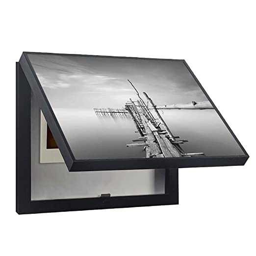 LITING Simple y Moderno medidor de Tapa magnética Caja de ...