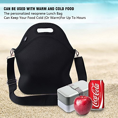 847d5c380a8c Lunch bag, ASILA Neoprene Reusable Lightweight Washable Insulated ...