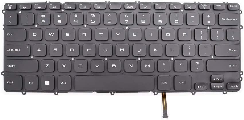 New Keyboard Replacement for Dell Precision M3800 XPS 15 9530 US Backlit Keyboard 0HYYWM HYYWM
