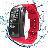 GooPhone S908 Waterproof Fitness Tracker Watch with Heart Rate Sleep Monitor GPS Activity Tracker Band for ios& Android