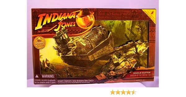 Hasbro Indiana Jones Reino de la Calavera de Cristal Cortador de Selva: Amazon.es: Juguetes y juegos