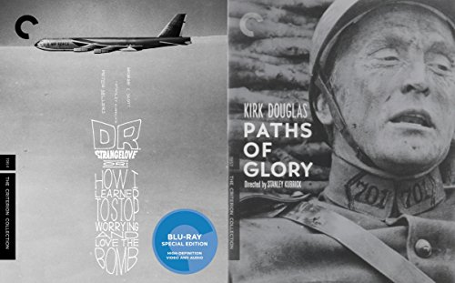 Stanley Kubrick Criterion Collection 2-Movie Bundle - Dr. Strangelove, Or: How I Learned to Stop Worrying and Love the Bomb & Paths of Glory Blu-ray Set (Master Builder Bridges compare prices)