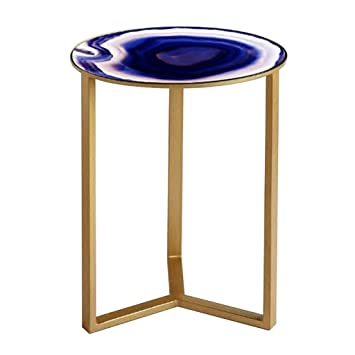 Chi Cheng Fang Electronic Business Table Ronde En Fer Forge Miroir