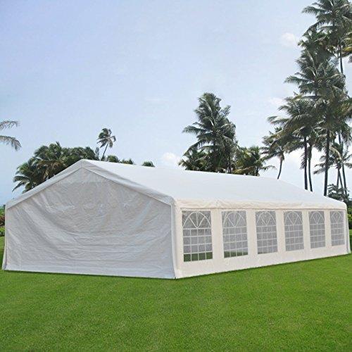 Quictent Upgraded Galvanized Heavy Duty Gazebo Party Wedding Tent Canopy Carport Shelter with Sideawalls(20x40, (Extra Heavy Duty Shelter)