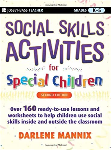Math Worksheets common core 4th grade math worksheets : Social Skills Activities for Special Children: Darlene Mannix ...