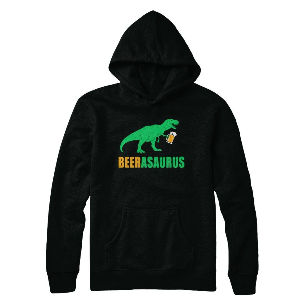 Beerasaurus Funny International Beer Day Dinosaur Gift Shirt