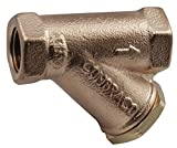 Apollo Valves - 59LF008P2 - 2 Y Strainer, FNPT x FNPT, 0.016 Mesh, 6-21/32 Length, Lead Free Bronze