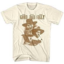 Good Bad Ugly John Wayne Cowboy Western Movie American Classics Adult T-Shirt
